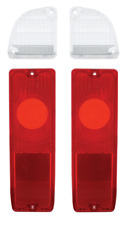 67-72 Chevy GMC Truck Fleetside Red Tail Lights & Reverse Back-up Lamps Kit