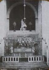 Interior of the Ecce Homo Church, Jerusalem, Magic Lantern Glass Slide