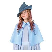 Adult Women's Harry Potter Blue Fleur Delacour Beauxbatons Costume Cosplay Cape
