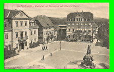 Sondershausen - Marktplatz mit Ministerium und Hotel zur Tanne - ungel. 1906