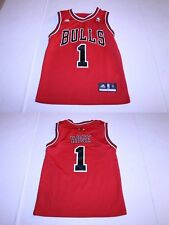 Youth Chicago Bulls Derrick Rose S (8) Jersey (Red) Adidas Jersey