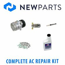 Chevy Cavalier 95-02 2.2L Complete New A/C Repair Kit wit OEM Compresor & Clutch