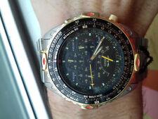 Citizen VINTAGE COLLECTION PROMASTER PILOT AB4004-59E CHRONOGRAPH WATCH NOS RARE