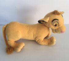 "Disney Lion King Simba Plush Stuffed Animal Large Lion 18"" Hasbro 2002"