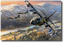 Fence Check by Ronald Wong - MC-130H Combat Talon II - Aviation Art Print