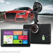 """7"""" A7 8G Android 4.4 Car Tablet GPS 1080P DVR Recorder Built-in European Map"""