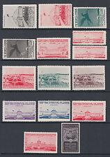 1913 Tilburg lot of 15 x Art / Commerce exhibition stamps