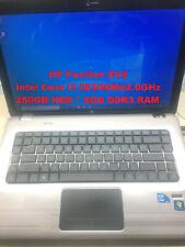 "HP Pavilion DV6_Intel Core i7-2630QM@2.0GHz_250GB HDD_8GB DDR3 RAM_15.6"" Screen"