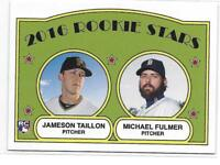 2016 Topps TBT Jameson Taillon / Michael Fulmer (RC) 1972 Rookie Stars Design
