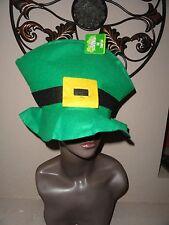 Saint Patrick's Day Green Top Felt Hat..  Teen/Adult Size