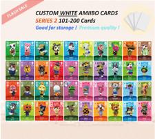 Series 2 Custom White NFC Amiibo Cards for Animal Crossing 101-200