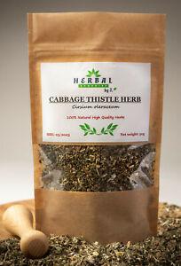 CABBAGE THISTLE Herb (Cirsium oleraceum) Czarcie zebro Ostrozen