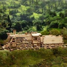 Robotime wooden 3D puzzle DIY assembly ROKR Locomotive