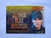 2000 RITTENHOUSE STARGATE SG-1 PREMIERE *STARGATE STARS* CHASE CARD S1