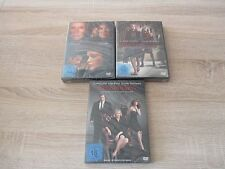 DAMAGES-- Staffel 1-3 --- 9 DVD --- Serie --- NEU OVP -- Glenn Close