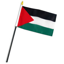 "Palestine Flag 4""x6"" Desk Table Stick"