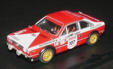 <kit Lancia Beta Coupé Gr.4 #107 Rally P.O.R. - RAC 1974 - Microsprint kit 1/43