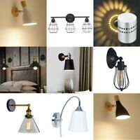 Swing Arm Wall Lights Plug In Set of 1 / 2PCS Lamp Metal Wall Sconce for Bedroom