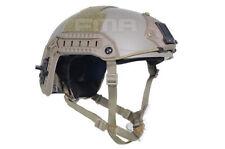 FMA Airsoft Maritime KEVLAR Aramid Fiber Tactical Protective Helmet TAN DE M/L