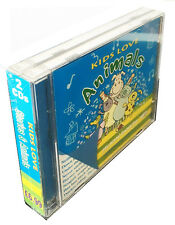 Kids Love Stories & Animals 2 Children's CDs Bedtime stories & animal songs*NEW*