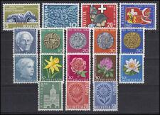 791-807 Schweiz-Jahrgang 1964 komplett, postfrisch