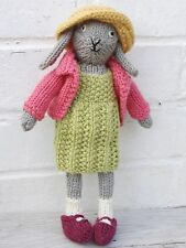 Easter Rabbit Bunny Toy New Free Chick & Egg Knitting Pattern Knit Baby Gift
