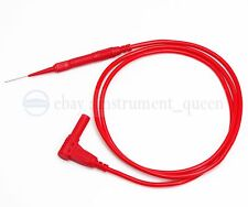 Car Motorcycle Multimeter Fine Test Needle Piercing Probe Silicone Testing Lead
