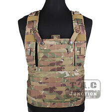 Emerson MOLLE Rhodesian Recon Vest RRV Chest Rig Multicam Panel Plate Carrier