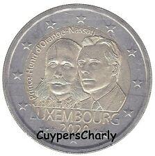Luxemburg 2020 I 2 Euro UNC Prins Hendrik ** Disponible ** Beschikbaar **