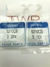AUTHENTIC Original SEIKO Spring Bars Seiko Velatura Watches S210CS 21 mm 10 PCS