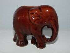 ANCIENNE TIRELIRE A CASSER EN CERAMIQUE ELEPHANT  HAUT 10 CM 7AR13 COLLECTION