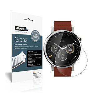 2x Screen Protector for Motorola Moto 360 (2019) matte Flexible Glass 9H dipos