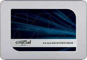 Crucial MX500 1TB 560 MB/s 3D NAND, SATA, 2,5 Zoll SSD