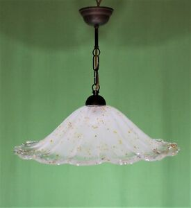Art glass light pendant
