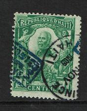 Haiti SC# 102 Used w/ Shifted Overprint - S7625