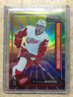 16-17 OPC O-PEE-CHEE Platinum RC Rookies #185 ANTHONY MANTHA Rainbow Color Wheel