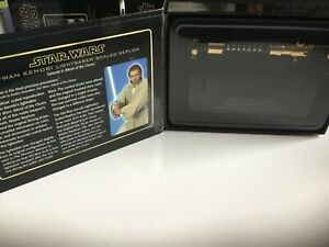 Master replicas scaled obi wan ep 2 gold chase rare