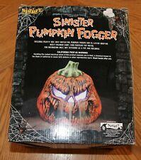 """Halloween 9.5"""" Sinister Pumpkin Fogger"""