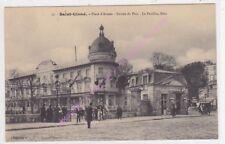 CPA 92210 SAINT CLOUD Place d'Armes entrée du parc pavillon bleu ca1911
