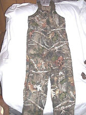 Boys Large Bib Overalls Insulated Coveralls Camo Bibs Realtree Camo Hunting Bibs