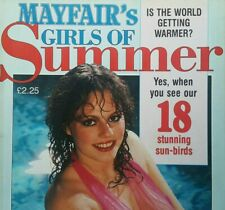 Mayfair Girls of Summer Magazine Number 3 Mens Vintage Adult Glamour *FREE POST*