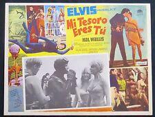 ELVIS PRESLEY Easy Come Easy Go MEXICAN LOBBY CARD 1967