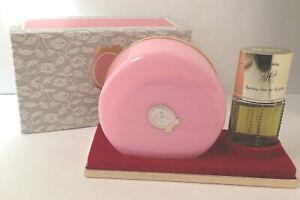 Vintage Chantilly Houbigant Body Dusting Powder & Eau De toilett NOS In Box