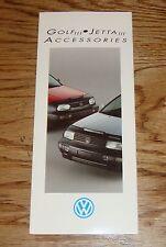 Original 1994 Volkswagen VW Golf III & Jetta III Accessories Sales Brochure 94
