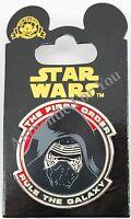 Disney Parks 2015 Star Wars Force Awakens Kylo Ren First Order Trading Pin