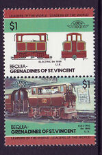 BEQUIA LOCO 100 ELECTRIC BO LOCOMOTIVE UK STAMPS MNH