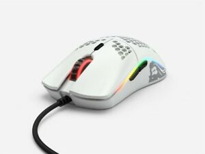 Glorious Gaming Mouse Model O White 67g High Durability Honeycomb Design