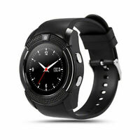 V8 Smart Watch Bluetooth Waterproof SIM Phone GPS For Android Samsung Phone US