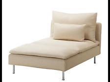 Ikea sodderhamn chaise covers isefall natural bnib
