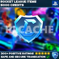 5000 Tradeable Credits - Rocket League [PSN Playstation 4/5]
